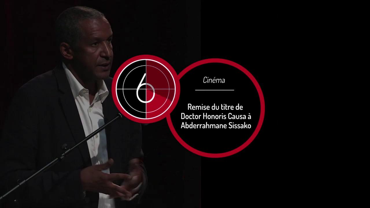 Doctor Honoris Causa Abderrahmane Sissako