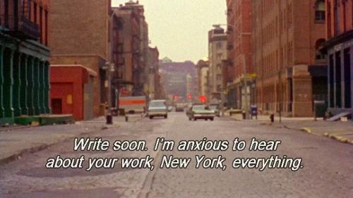Journée d'études - Chantal Akerman, retours sur une oeuvre #04 - Regard biaisé sur les films new-yorkais de Chantal Akerman
