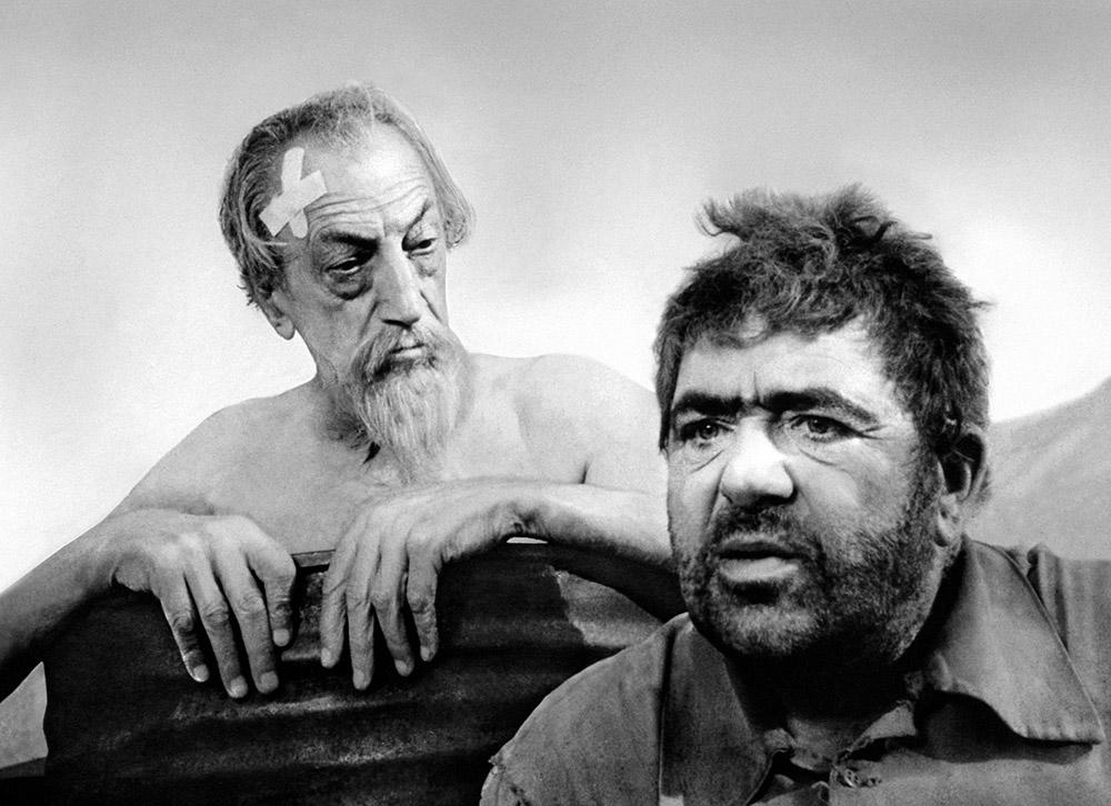 Don Quixote and Paola Mori (Mrs. Orson Welles)