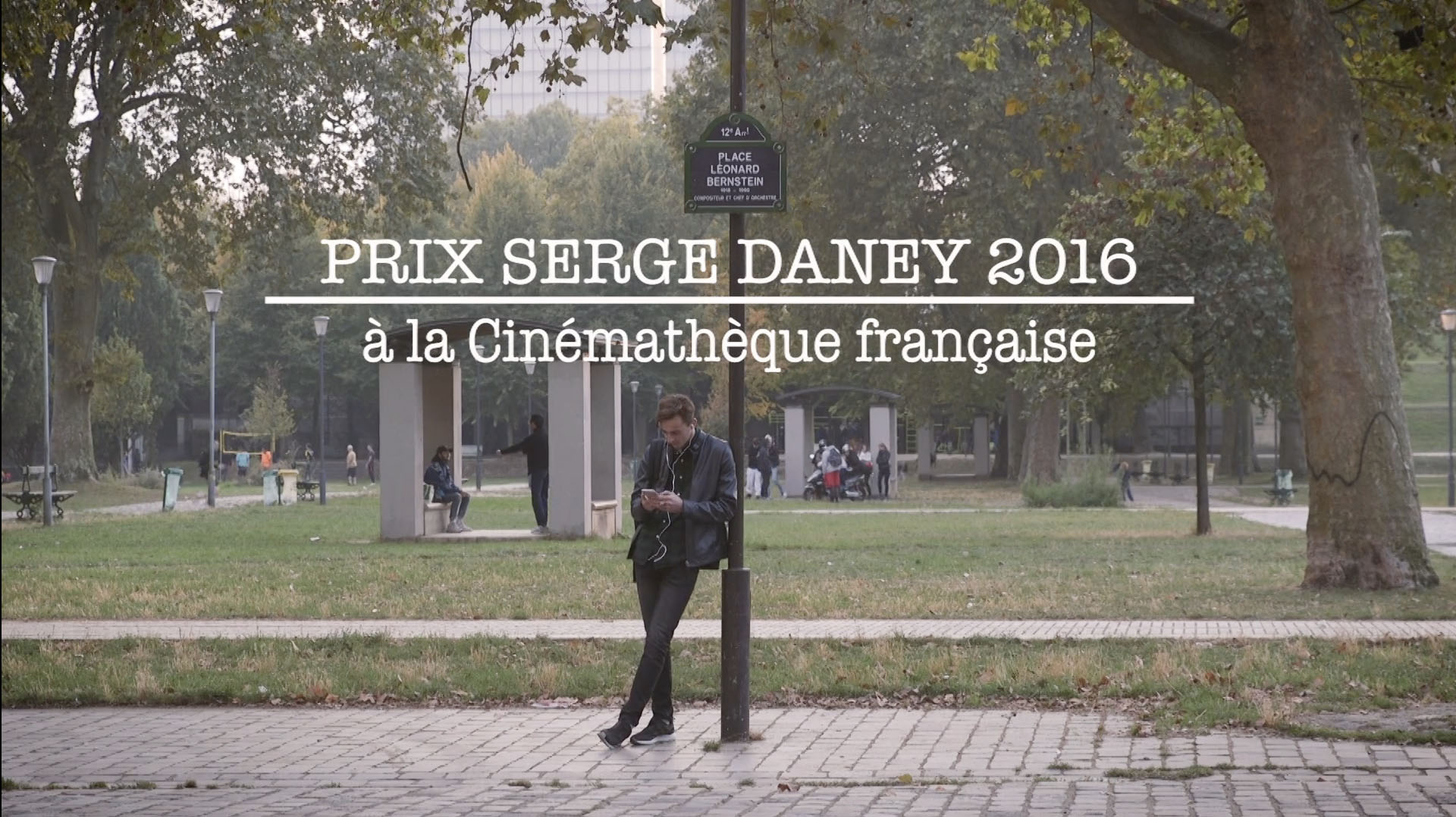 Prix Serge Daney 2016